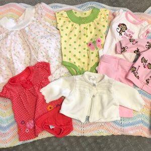 3/$30 Newborn girl bundle